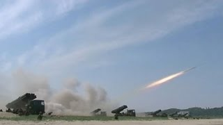 North Korea test-launches missile