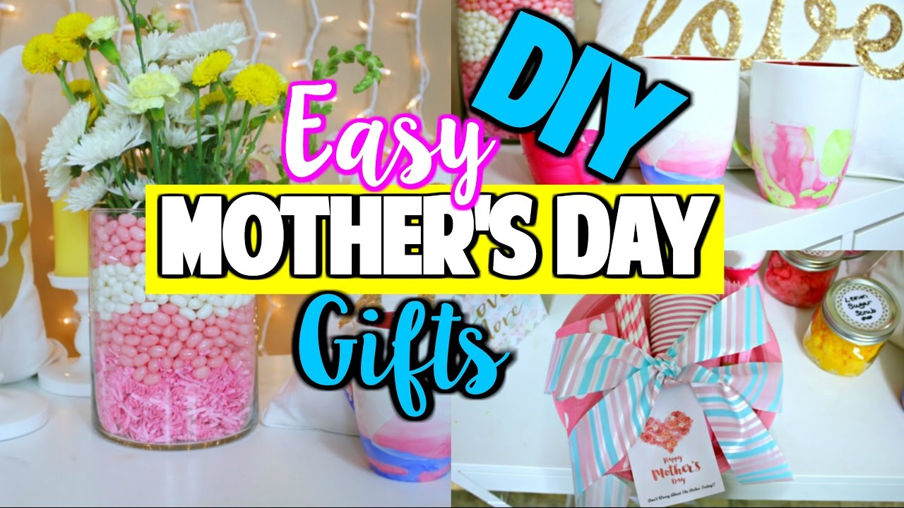 Easy Mother's Day Gift Ideas!