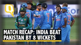 India beat Pakistan by 8 Wickets in 2018 Asia Cup | The Quint