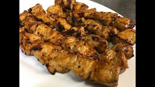 How To Make Chilli Chicken Kebabs