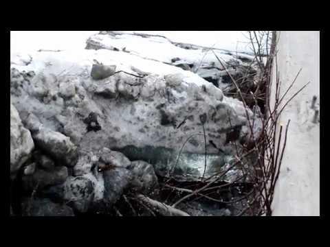 MASSIVE ICE JAM GRAND FORKS, NORTH DAKOTA 4/7/2019