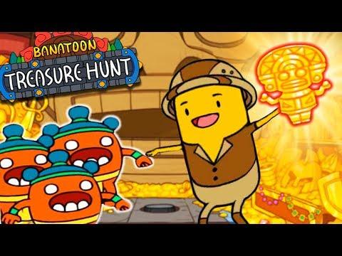 СОКРОВИЩА НАЙДЕНЫ! Приключения ВЕСЕЛОГО БАНАНА в Игре BANATOON: Treasure Hunt