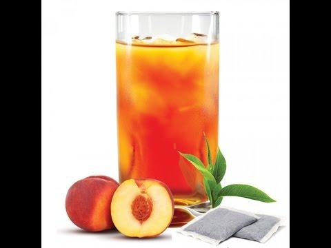 homemade peach iced tea easy recipe youtube