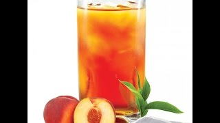 Homemade Peach Iced Tea  Easy Recipe