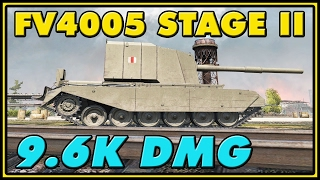 World of Tanks | FV4005 Stage II - 6 Kills - 9.6K Damage