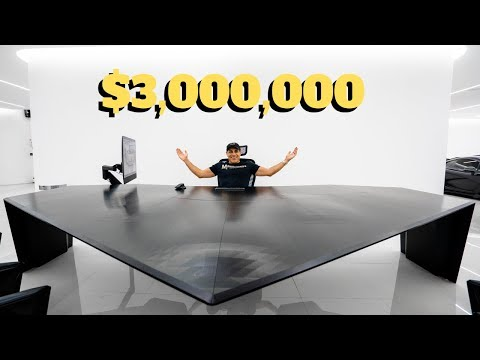 My $3 Million Desk Setup!