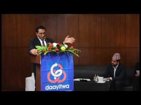 Keynote speech on ''Innovation'' by Dr. Swarnim Wagle, National Planning Commission.
