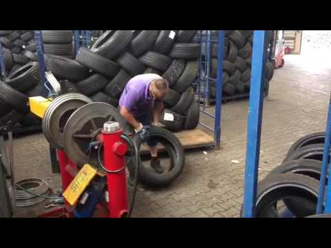 Шины БУ из Германии. Так мы проверяем наши колеса прежде чем их везти в Москву