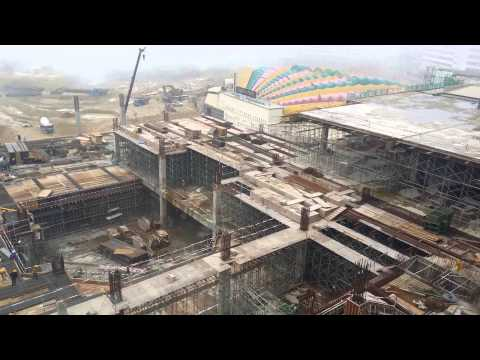 View of 20th Century Fox World Theme Park construction site @ Genting Highlands (7 May 2015) UHD 4K