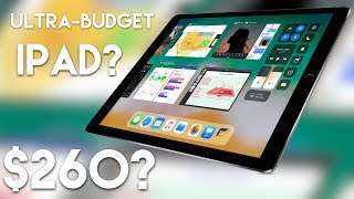 Budget 2018 iPad on the way?