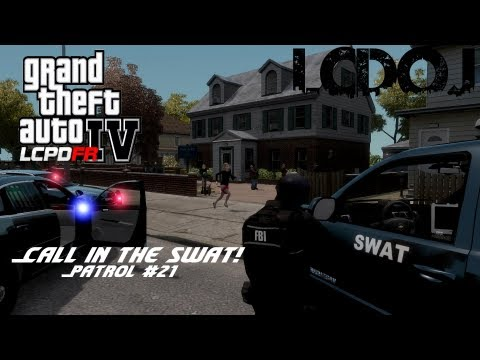 LCDoJ RP Clan | Patrol #21 SWAT Called to Gang Hideout Scenario