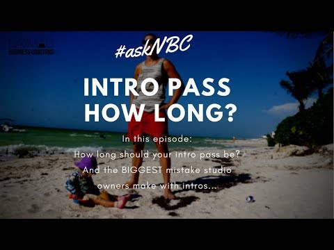 Yoga Business: how long should your intro offer be? - #askNBC