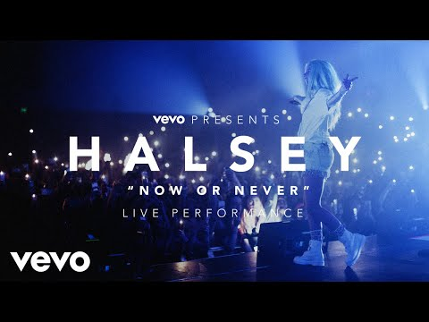 Thumbnail: Halsey - Now or Never (Vevo Presents)