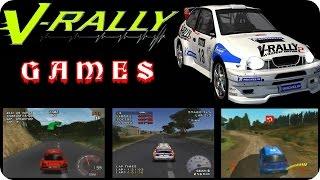 V-RALLY Games Gameplay HD