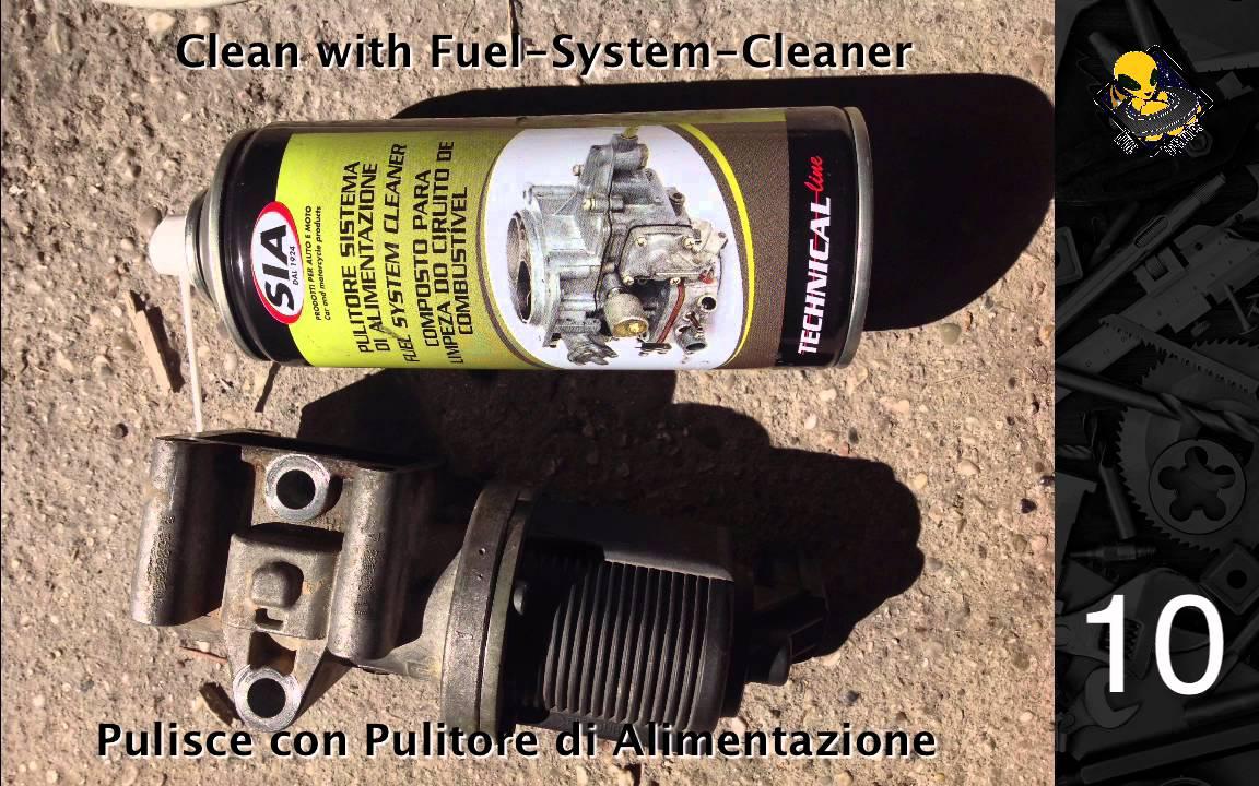 Alfa Romeo 159 Agr Egr System Valve Cleaning Egr Ventil