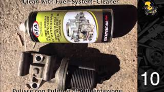 alfa romeo 159 agr egr system valve cleaning egr ventil reinigen pulire la valvola egr