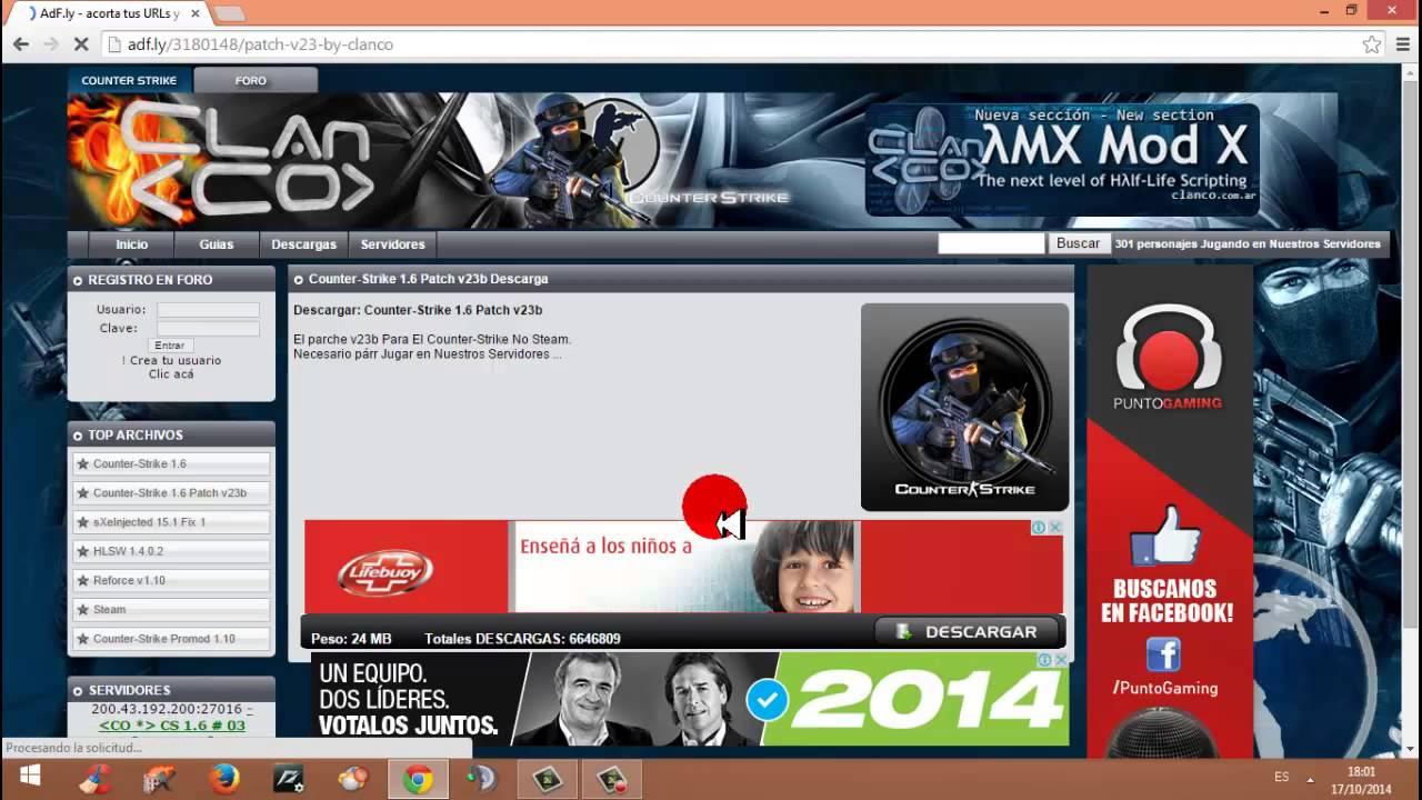 Descargar Counter Strike Clanco 1.6 Free Download
