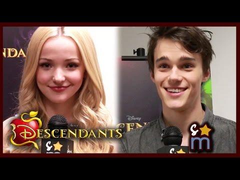 DESCENDANTS Cast Talks Script & Misunderstood Characters - Dove Cameron, Sofia Carson