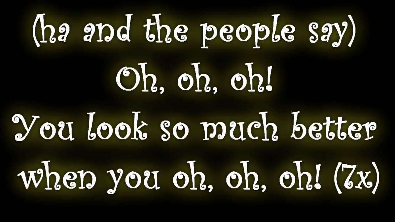 I Smile [Kirk Franklin] Lyrics on Screen
