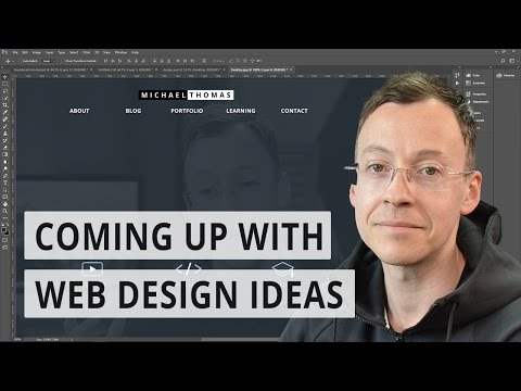 Coming up with web design ideas | For developers