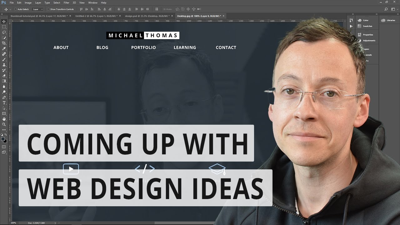 Coming up with web design ideas | For developers - YouTube