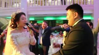 песня невесты. Свадьба в Астане 2016.