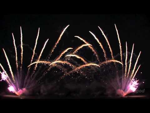 Wedding Fireworks 'Time To Say Goodbye' Pyromusical Display