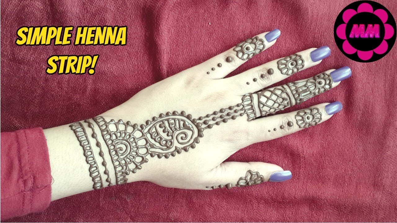 Henna Tattoo How Long Does It Last : Hd mehndi designs henna tattoo for hands