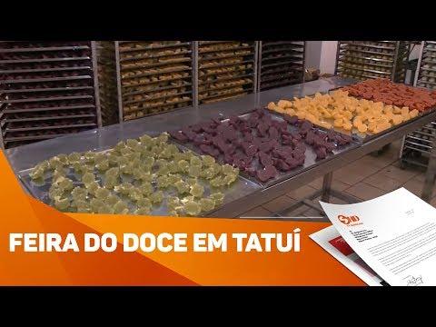 Feira do Doce em Tatuí - TV SOROCABA/SBT