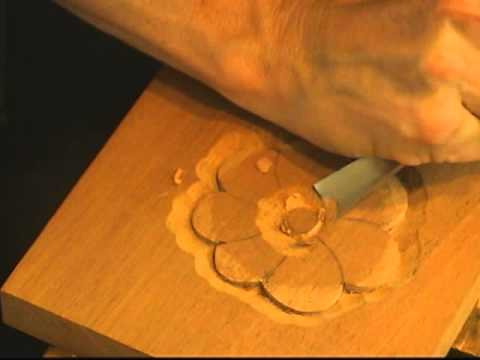 Beginning Woodcarving - How to Carve a Basic Flower with Mary May ...