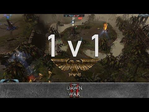 Dawn of War 2: Retribution - 1v1 | Stoned_elf - Lord Commissar [vs] Tharx Gamma - Force Commander