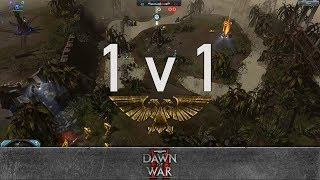 Dawn of War 2: Retribution - 1v1 | Stoned_elf - Lord Commissar [vs] Tharx Gamma - Force Commander