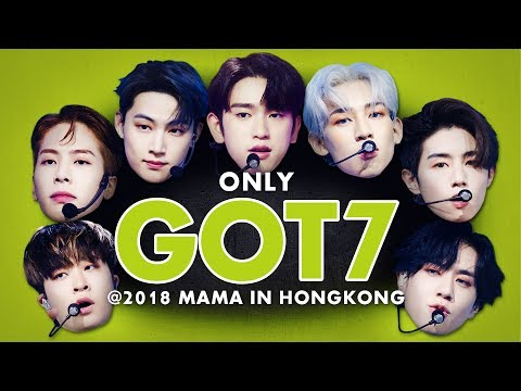 GOT7 at 2018 MAMA in HONG KONG | All Moments