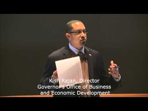 Kish Rajan, Director, Governor's Office of Business and Economic Development (Go-Biz)
