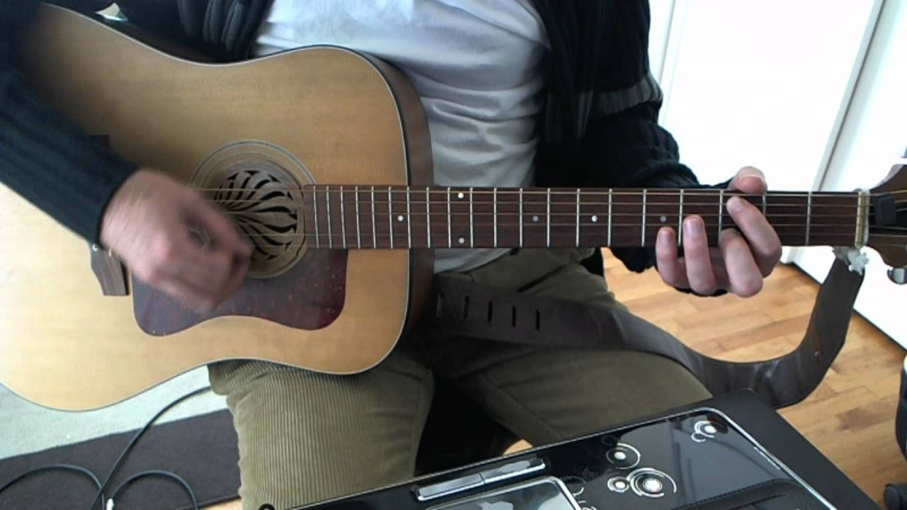 Swing Life Away Acoustic Guitar Solo Lesson Rise Against Youtube