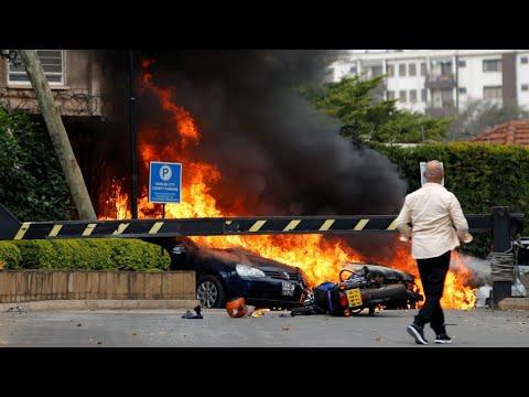 حركة -الشباب- الصومالية الجهادية تتبنى هجوم نيروبي الذي راح ضحيته 21 قتيلا  - نشر قبل 56 دقيقة