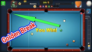 Golden Break Phoenix Cue