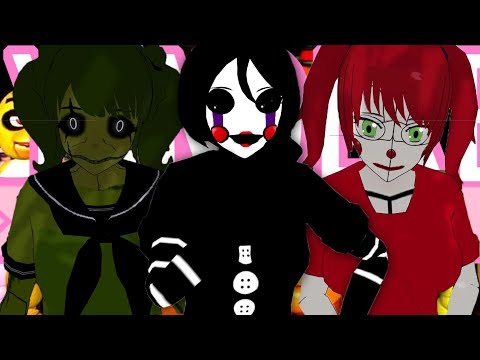 FIVE NIGHTS AT YANDERE HIGH SCHOOL !! OMG | YANDERE SIMULATOR