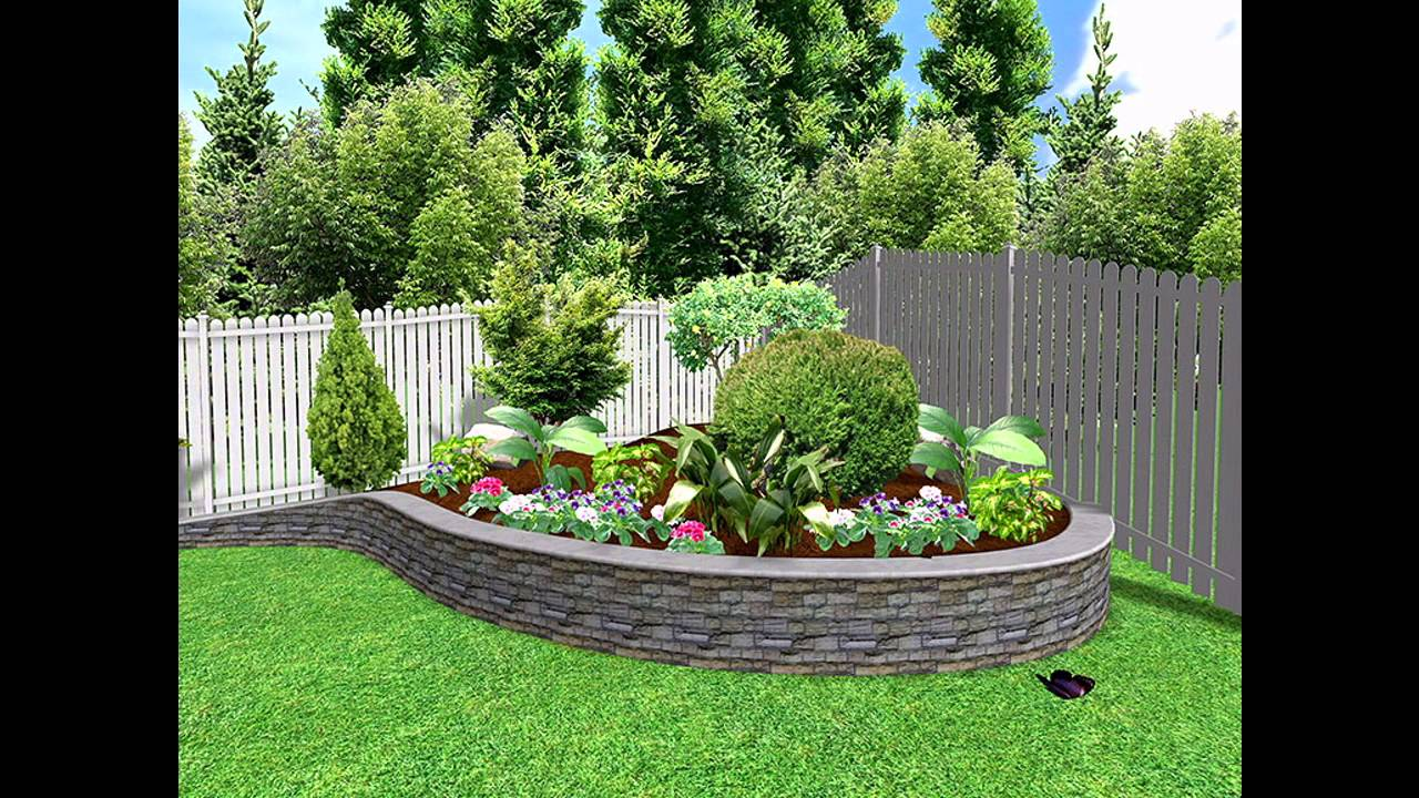 Genial [Garden Ideas] Small Garden Landscape Design Pictures Gallery   YouTube