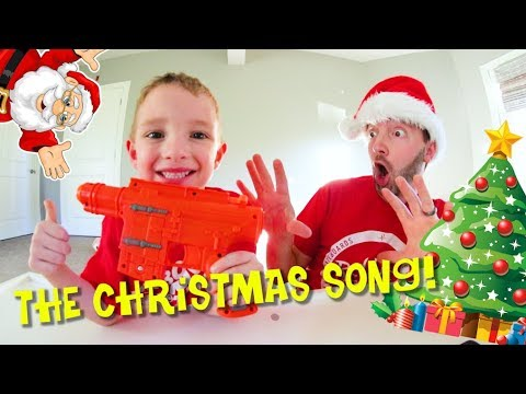 Father & Son SING THE CHRISTMAS SONG! / Holly Jolly!