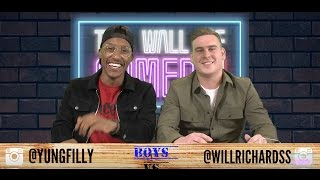 FILLY & WILLY - CRAZIEST HOT WINGS CHALLENGE EVER!!