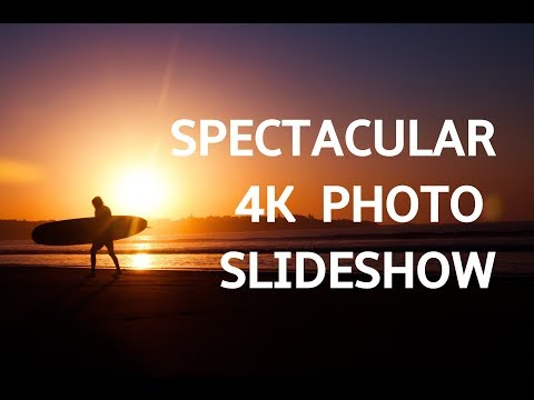 SPECTACULAR PHOTO SLIDESHOW IN 4K! Beautiful Art Photography Slideshow Screensaver | Silent Scenery