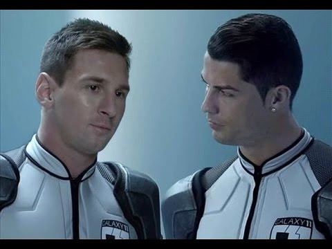 #GALAXY11 - The Full Match - Lionel Messi ft C.Ronaldo vs Ailens Team (Part 1,2,3) HD