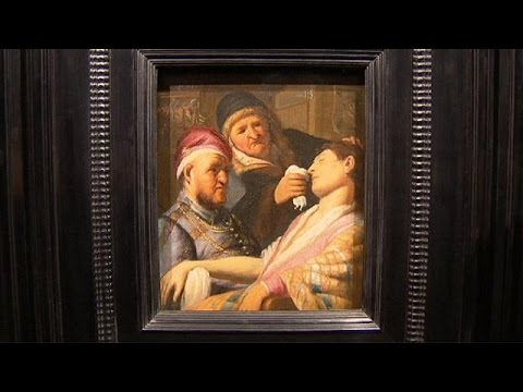 Missing Rembrandt on display at TEFAF Maastricht