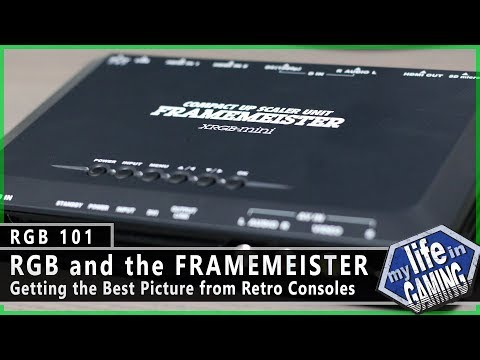 RGB101 :: RGB and the Framemeister: Getting the Best Picture from Retro Consoles - MY LIFE IN GAMING