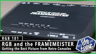RGB101  RGB and the Framemeister Getting the Best Picture from Retro Consoles - MY LIFE IN GAMING