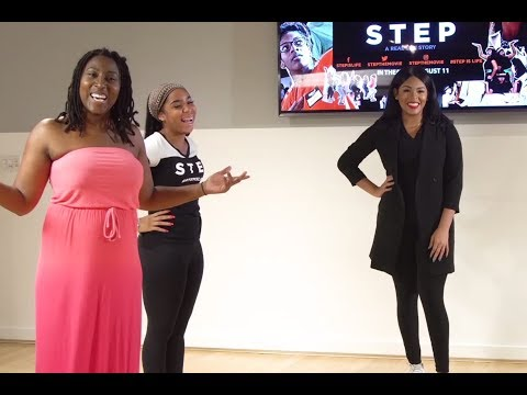 The cast of Step: The Movie in an epic dance off
