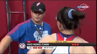 kuo hsing chun 3j 133 kg cat 58 world weightlifting championship 2013