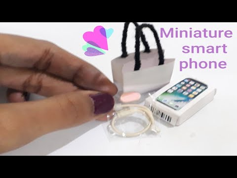 Miniature Smart Phone How to make it in easy way