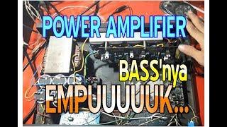 Power Amplifier 400 Watt Stereo